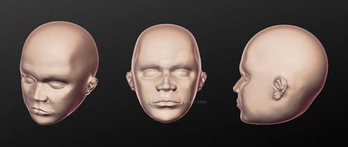 Human head 1