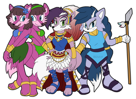 Comm: Lupe, Leeta and Lyco by Hedgey