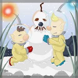 AT: Building a Snowman by Hedgey