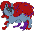 Comm: Wolf the Phoenix/Wolf by Hedgey