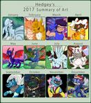 2017 Summary of Art by Hedgey