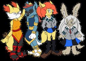Comm: Zororene, Nanachi, Kira and Kasai