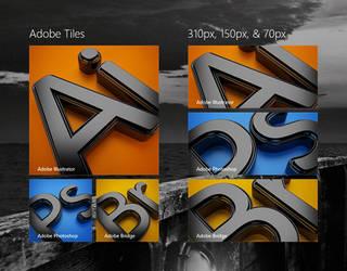 Adobe Start Tiles Experiment