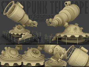 Steampunk Telescope