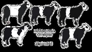 Panda mini cows! Squee! [OPEN]