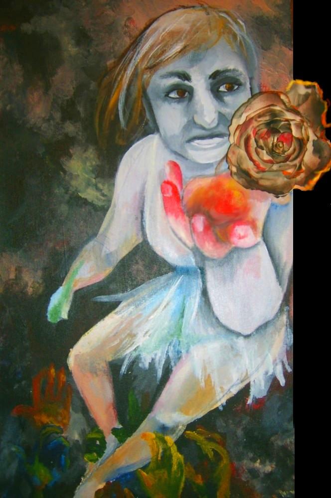 AP Art -  Lady Plath by lunescence