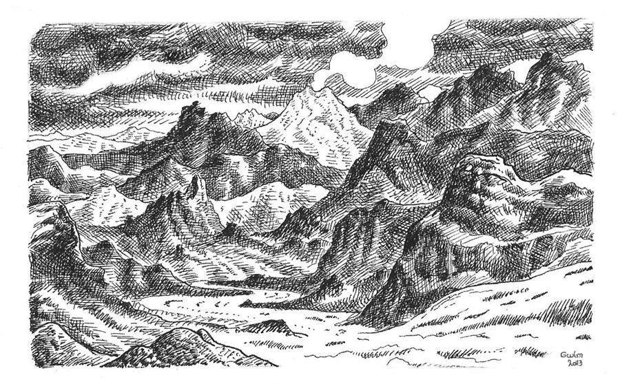 Islandia Sprengisandur by GwilymG