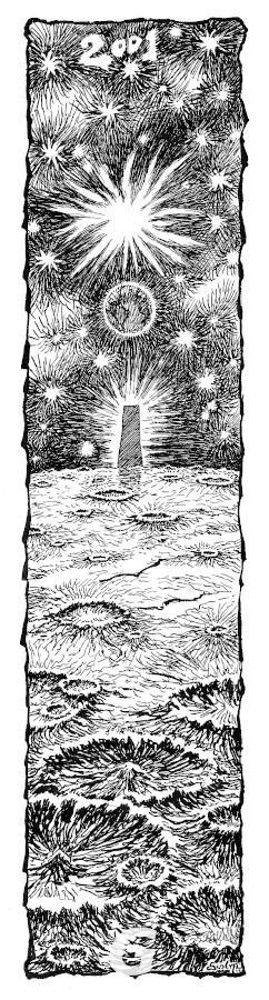 Bookmark 2001: A Space Odyssey Arthur C. Clarke