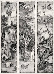 Hieronymus Bosch's bizarre Flora
