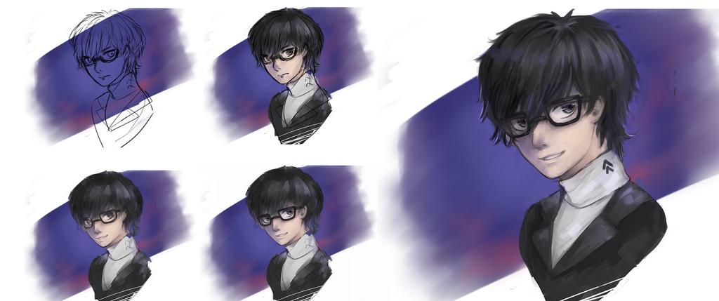[Persona5] Joker by HiiragiAzayaka