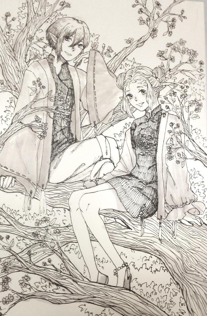 [OC]  ShiraNora by HiiragiAzayaka