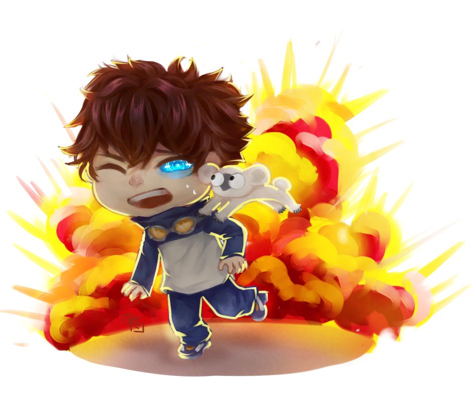 [Fanart] Run, Leo run! by HiiragiAzayaka