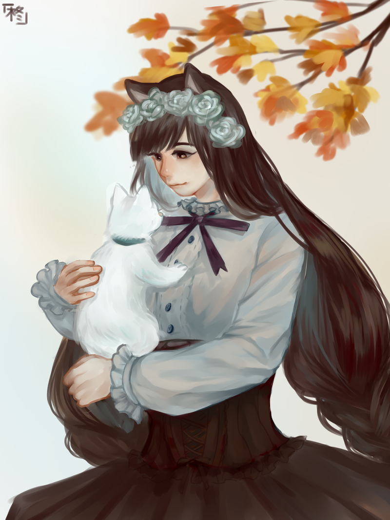 [request] Cat lady by HiiragiAzayaka