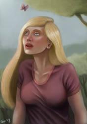 A Girl by OZtheW1ZARD