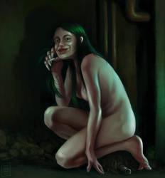 Miss Cthulhu by OZtheW1ZARD