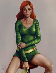 Jean Grey - Marvel Girl by OZtheW1ZARD