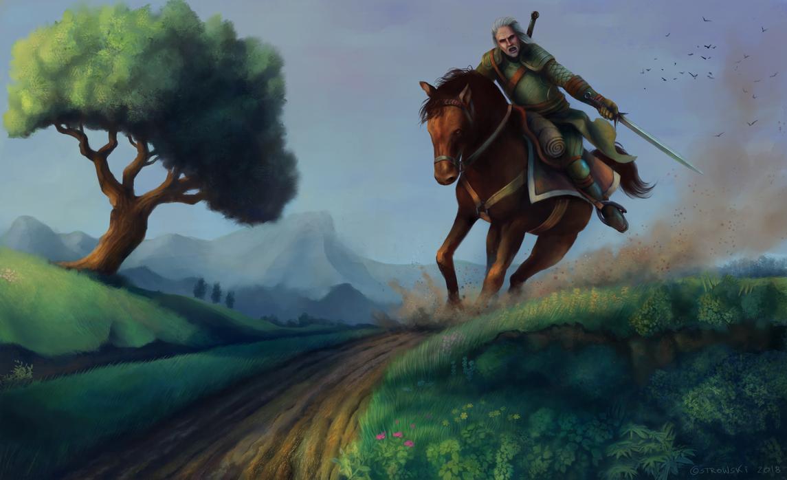 The Witcher by OZtheW1ZARD
