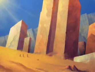 Desolate sandness