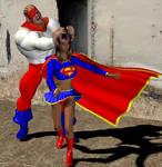supergirl vs. Piledriver