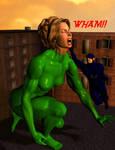 Blue Galoot v. Jade Giantess 2
