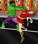 Hulk vs. Mary Marvel 2