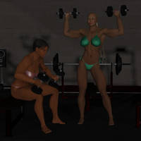 Pumping Up by cattle6