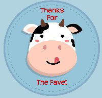 Cute-cow-sticking-tounge-out-vector-10510109 by cattle6
