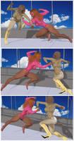 Super powerwed battle