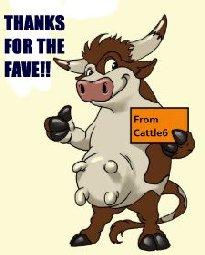Holly Cow You Are 40 Cartoon Funny Birthday Card-r