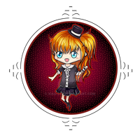 Commission Chibi - Luck Mokona--modoki