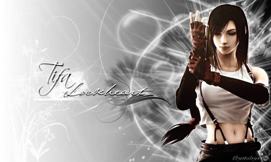 Tifa Lockheart Wallpaper By XCrystalsyxx