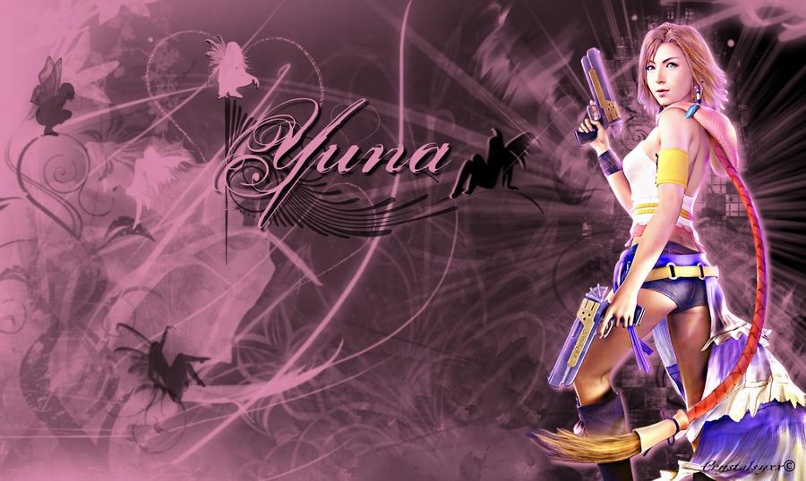 Yuna wallpaper by xcrystalsyxx on deviantart - Yuna wallpaper ...