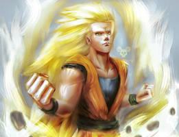 Super Saiyan 3 by Tecnomayro