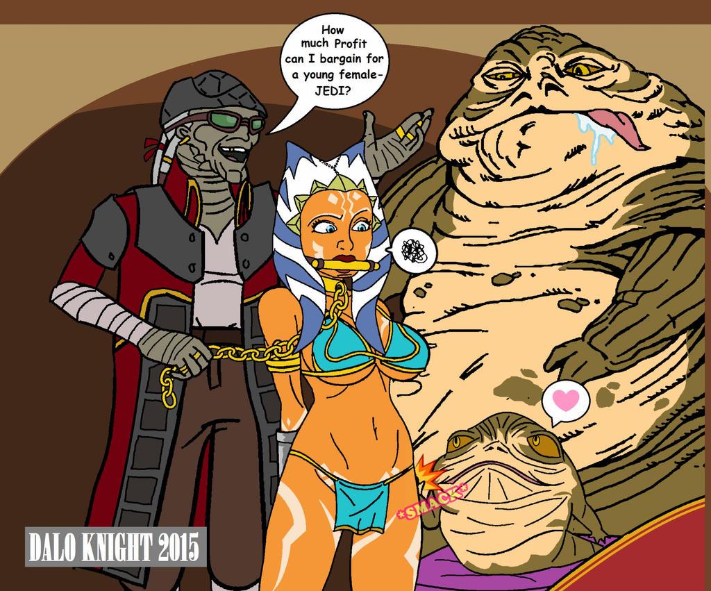 Star wars nude fan art
