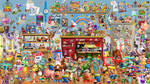 Every Character In Toy Story Wallpaper