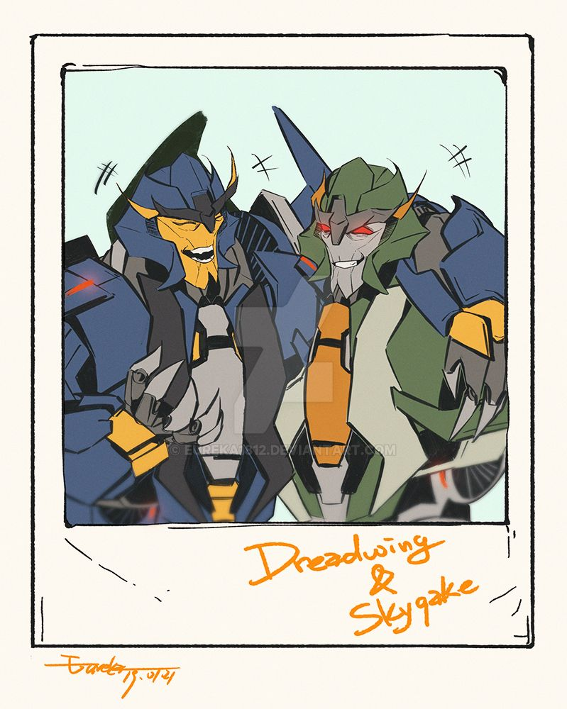 Dreadwing and skyquake by Eureka1812 on DeviantArt