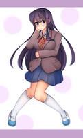Yuri[DDLC] by ENdarks