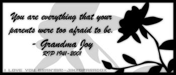 Gran'ma Said by JINXD-PARADOX