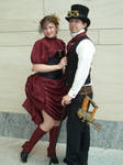 Red and Black Steampunk- az10 by ClockworkRuin