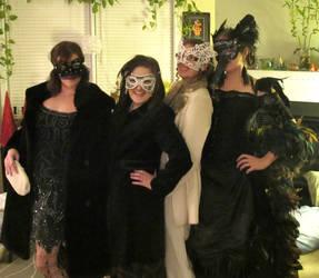 Masked Beauties by ClockworkRuin