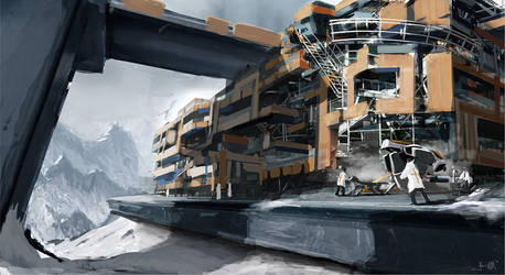 Environment Design - Rescue by Takumer