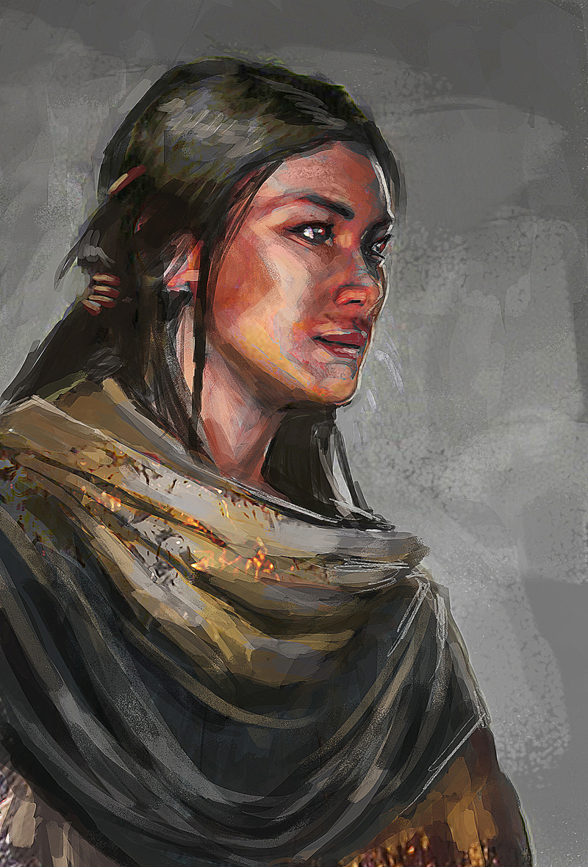 Character 1 by Takumer