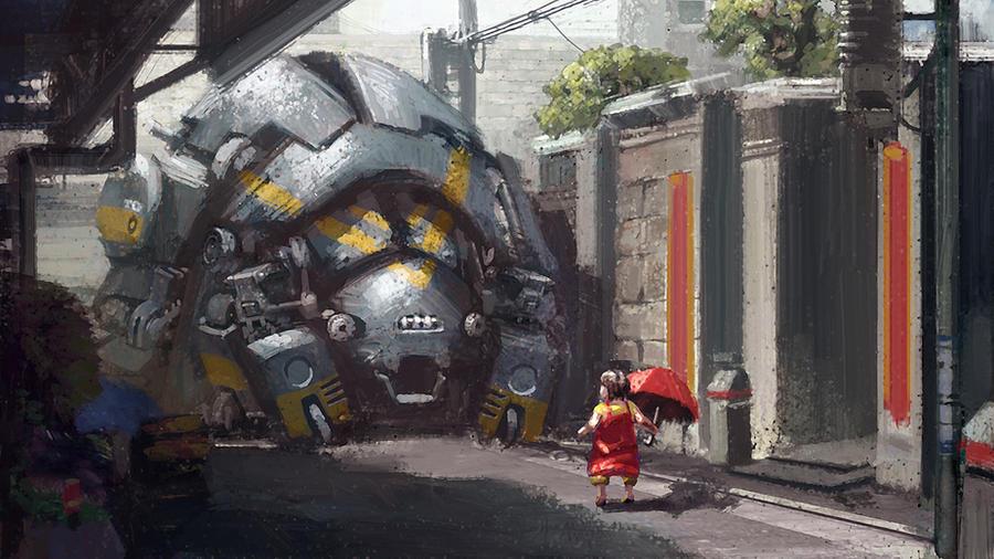 My Neighbour by Takumer