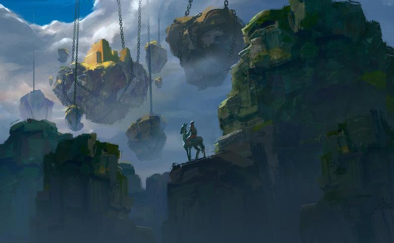Hanging Land by Takumer