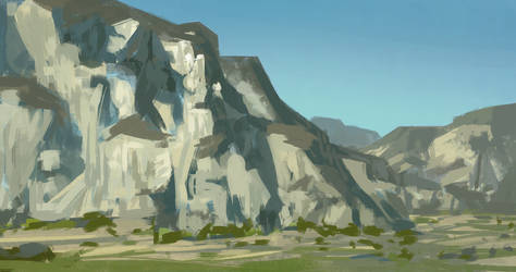 Graphical Landscape Painting