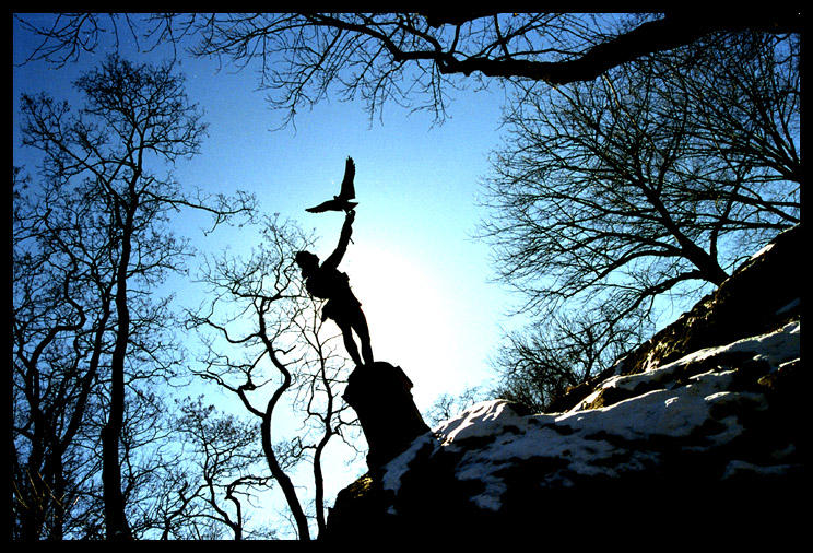 Peter Pan Statue, Central Park by OnTheRoad