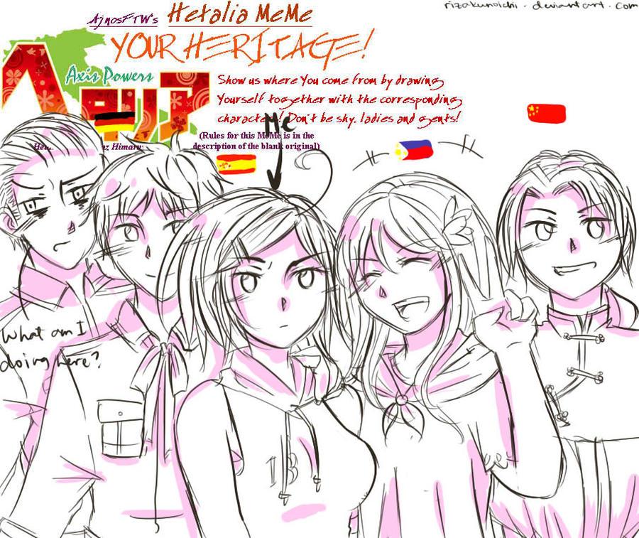 Heritage Meme RIZA'S VERSION!!! XD by RizaKunoichi