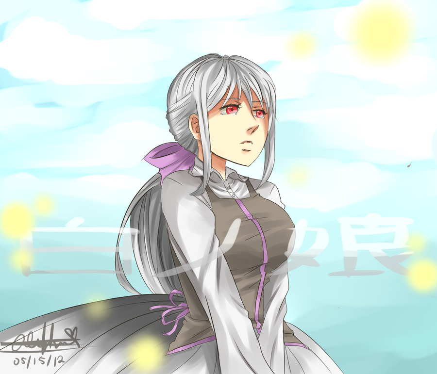 daughter of white by rizakunoichi on deviantart