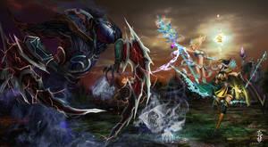 Digi-Art Throwdown by ChubbieBear