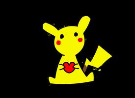 Pikachu Happy Valentine's by Dkhda